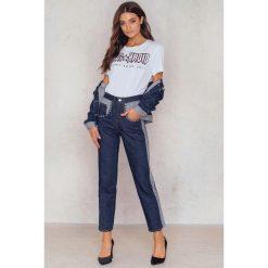 Tommy Hilfiger Jeansy 7/8 Gigi Hadid Liv - Blue. Niebieskie proste jeansy damskie marki TOMMY HILFIGER, z denimu. W wyprzedaży za 231,89 zł.