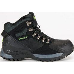 ZIMOWE OBUWIE MCKEYLOR. Czarne buty trekkingowe męskie McKeylor, na zimę. Za 159,00 zł.