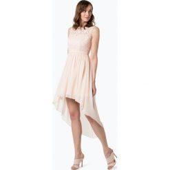 Marie Lund - Damska sukienka koktajlowa, różowy. Różowe sukienki koktajlowe marki numoco, l, z dekoltem w łódkę, oversize. Za 449,95 zł.
