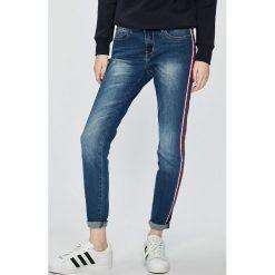 Sublevel - Jeansy. Niebieskie jeansy damskie marki Sublevel, z bawełny. W wyprzedaży za 139,90 zł.