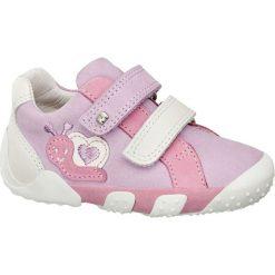 Buty dziecięce Elefanten różowe. Niebieskie buciki niemowlęce chłopięce marki Born2be, z materiału, z okrągłym noskiem, na obcasie. Za 139,90 zł.