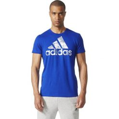 Adidas Koszulka BOS FOIL niebieska r. S (CD9210). Niebieskie koszulki sportowe męskie Adidas, m. Za 84,66 zł.