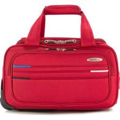 Torba podróżna V25-10-477-30. Czerwone torby podróżne Wittchen, z materiału. Za 159,00 zł.