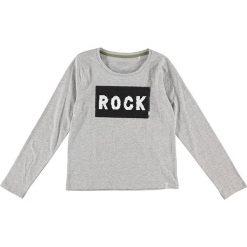 Bluzki dziewczęce: Koszulka w kolorze szarym