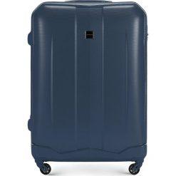 Walizka duża 56-3A-373-90. Niebieskie walizki marki Wittchen, z gumy, duże. Za 199,00 zł.
