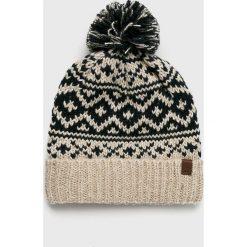 Barts - Czapka Cartonn. Szare czapki zimowe męskie marki Barts, na zimę, z bawełny. Za 129,90 zł.