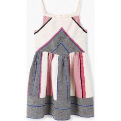 Odzież dziecięca: Mango Kids – Sukienka dziecięca Chaya 110-152 cm