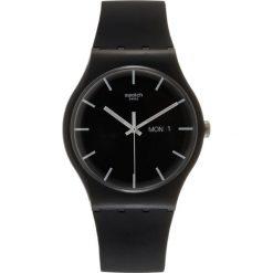 Zegarki damskie: Swatch MONO BLACK Zegarek black