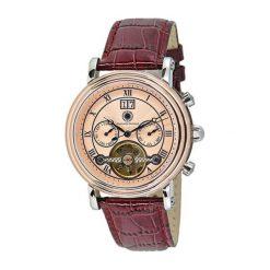 """Zegarki męskie: Zegarek """"CDSALIATLTSTRGPK"""" w kolorze brązowo-srebrno-różowozłotym"""