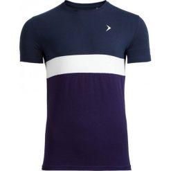 T-shirt męski TSM616 - granatowy melanż - Outhorn. Niebieskie t-shirty męskie Outhorn, na lato, m, melanż, z bawełny. W wyprzedaży za 29,99 zł.