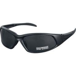 Nomad Okulary przeciwsłoneczne czarny. Czarne okulary przeciwsłoneczne męskie aviatory Nomad. Za 54,90 zł.