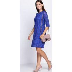 Sukienki: Ciemnoniebieska Sukienka Perfect Illusion
