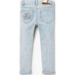 Mango Kids - Jeansy dziecięce Friend 110-164 cm. Niebieskie jeansy dziewczęce Mango Kids, z bawełny. W wyprzedaży za 69,90 zł.