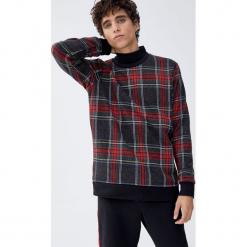 Bluza w szkocką kratę. Zielone bluzy męskie Pull&Bear, m. Za 99,90 zł.