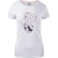 ELBRUS Koszulka damska Corazon Wo's Island Paradise Melange/ White r. L. Białe bluzki damskie marki ELBRUS, l. Za 50,55 zł.