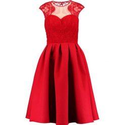 Sukienki hiszpanki: Chi Chi London Tall GILLIAN Sukienka koktajlowa red