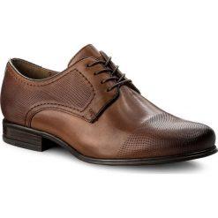 Półbuty LASOCKI FOR MEN - MI07-C327-365-03 Brązowy. Brązowe buty wizytowe męskie Lasocki For Men, z materiału. Za 189,99 zł.