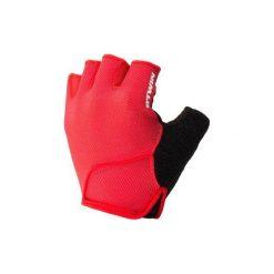 Rękawiczki na rower 500. Czerwone rękawiczki damskie marki B'TWIN. Za 29,99 zł.