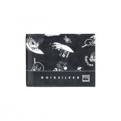 Portfele Quiksilver  Freshness - Cartera de dos secciones para Hombre. Czarne portfele męskie Quiksilver. Za 140,71 zł.