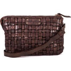 Torebki klasyczne damskie: Skórzana torebka w kolorze brązowym – 25 x 17 x 8 cm