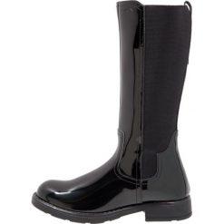 Geox SOFIA Kozaki black. Niebieskie buty zimowe damskie marki Roxy, z tworzywa sztucznego, na wysokim obcasie. W wyprzedaży za 209,50 zł.