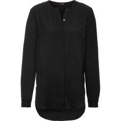 Długa bluzka bonprix czarny. Czarne bluzki longsleeves bonprix. Za 89,99 zł.