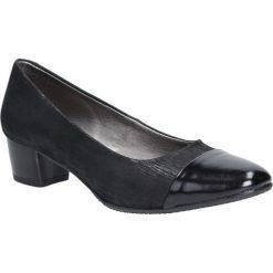 Czarne czółenka skórzane na niskim obcasie Casu 330. Czerwone buty ślubne damskie marki Casu, na słupku. Za 169,99 zł.