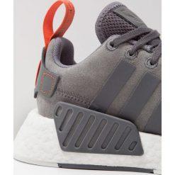 Adidas Originals NMD_R2 Tenisówki i Trampki anthracite. Szare tenisówki damskie marki adidas Originals, z materiału. W wyprzedaży za 356,85 zł.