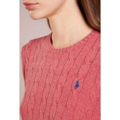 Polo Ralph Lauren JULIANNA Sweter red slate heather. Czerwone swetry klasyczne damskie Polo Ralph Lauren, xl, z kaszmiru, polo. Za 629,00 zł.