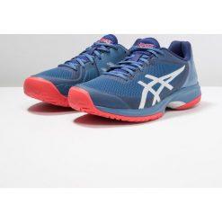 ASICS GELCOURT SPEED Obuwie multicourt azure/blue print. Czarne buty do tenisa męskie marki Asics. Za 509,00 zł.