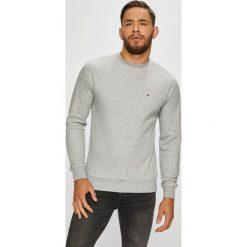 Tommy Jeans - Bluza. Szare bluzy damskie marki Tommy Jeans, m, z bawełny, bez kaptura. Za 299,90 zł.