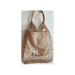 Toreba Shopper BALA Net Bag. Brązowe shopper bag damskie Bala-lifestyle, z breloczkiem. Za 129,00 zł.