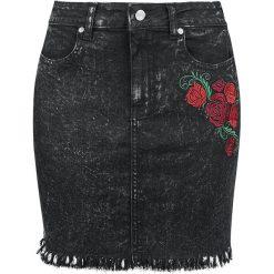 Black Premium by EMP Let There Be Cowgirls Spódnica czarny. Czarne spódniczki jeansowe marki Black Premium by EMP, xl. Za 99,90 zł.
