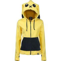 Cupcake Cult Striker Bluza z kapturem rozpinana damska żółty. Czarne bluzy rozpinane damskie marki House, l. Za 199,90 zł.