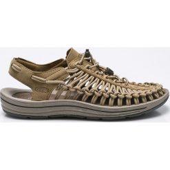 Keen - Sandały Uneek. Szare sandały męskie Keen, z gumy, z okrągłym noskiem. W wyprzedaży za 319,90 zł.