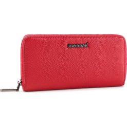 Duży Portfel Damski MONNARI - PUR0650-005 Red. Czerwone portfele damskie marki Monnari, ze skóry. W wyprzedaży za 159,00 zł.