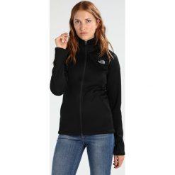 The North Face AGAVE FULL ZIP Kurtka z polaru black. Czarne kurtki sportowe damskie marki The North Face, xs, z elastanu. W wyprzedaży za 265,30 zł.