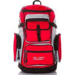 Trekkingowy plecak górski Bag Street Mountain. Czerwone plecaki damskie marki Bag Street, street. Za 99,00 zł.