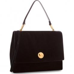 Torebka COCCINELLE - CD1 Liya Suede E1 CD1 18 03 01 Noir 001. Czarne torebki klasyczne damskie Coccinelle, ze skóry, duże. W wyprzedaży za 1289,00 zł.