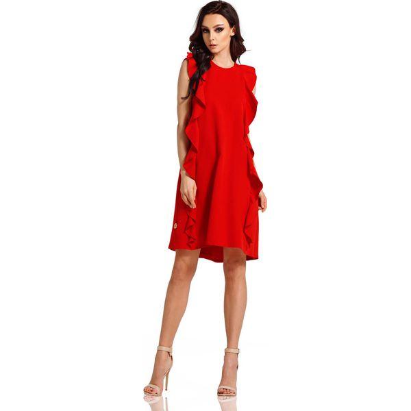 d662a260bc Czerwone sukienki balowe damskie - Promocja. Nawet -70%! - Kolekcja wiosna  2019 - myBaze.com
