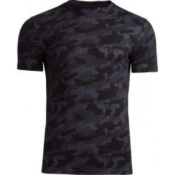 T-shirt męski TSM602 - ciemny szary - Outhorn. Szare t-shirty męskie marki Outhorn, na lato, m, moro, z bawełny. W wyprzedaży za 39,99 zł.