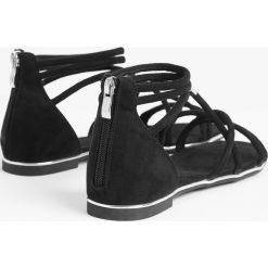 Sandały damskie: Sandały na płaskiej podeszwie