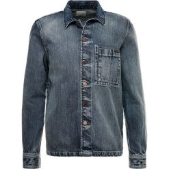 Nudie Jeans STEN Koszula denim. Niebieskie koszule męskie jeansowe marki Nudie Jeans, m. Za 629,00 zł.