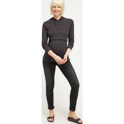 Bluzy rozpinane damskie: Boob Bluza z kapturem black