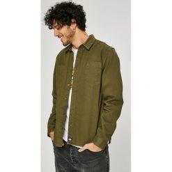 Dickies - Koszula. Brązowe koszule męskie na spinki marki Dickies, m, z bawełny, z klasycznym kołnierzykiem, z długim rękawem. W wyprzedaży za 129,90 zł.