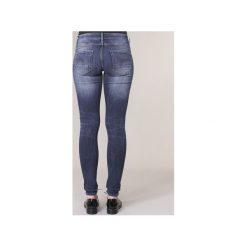 Jeansy skinny G-Star Raw  D-STAQ 5 PKT MID SKINNY. Czerwone jeansy damskie skinny marki G-Star RAW, l, z bawełny. Za 529,00 zł.