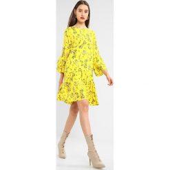 Sukienki hiszpanki: NORR TIFFANY DRESS Sukienka letnia yellow