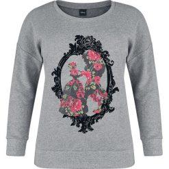 Bluzy rozpinane damskie: Piękna i Bestia Rose Frame Bluza damska odcienie szarego