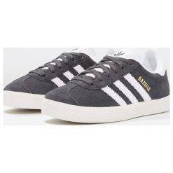 Adidas Originals GAZELLE Tenisówki i Trampki solid grey/white/gold metallic. Szare tenisówki damskie marki adidas Originals, z materiału. Za 229,00 zł.