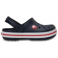 Buty dziecięce Crocband Clog navy r. 27-28. Niebieskie buciki niemowlęce marki Crocs. Za 108,34 zł.